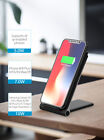 Qi Fast Wireless Charger Charging Dock Pad for Phone XS Samsung Galaxy S9 Note9