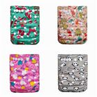 Kyпить Reusable Cloth Nappy Washable Baby Diaper Cover Wrap Kit Bamboo Charcoal Hot QP на еВаy.соm