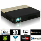True 8500 Lumens 4K HD 1080P DLP Projector 3D Wifi Home Theater Cinema RJ45 HDMI