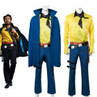 Solo A Star Wars Story Lando Calrissian Cosplay Costume Uniform Cape Full Set $91.86 USD on eBay
