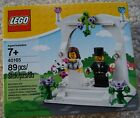 NEW LEGO BRIDE and GROOM Wedding Cake Topper Party Favor 40165 retired set