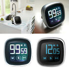 FA- Digital LCD Touch Screen Kitchen Cooking Timer Count-Down Up Clock Alarm Pre