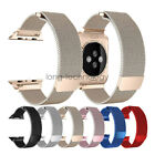 40mm 44mm Milanese Loop Stainless Steel Watch Bracelet For Apple Watch 38mm 42mm image