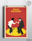 PULP FICTION - Minimalist Movie Poster Print Posteritty Tarantino Travolta Dance
