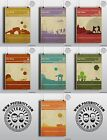 STAR WARS Book Covers x 7 Minimalist Movie Poster Posteritty Minimal Jedi Hope £8.0 GBP on eBay