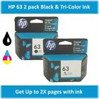 HP 63 Standard Single or Multi-Pack Ink Cartridge (Black or Tri-Color), EXP 2020 - Hp 63 Black Ink Cartridge