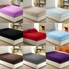Extra Deep Pocket King Size Fitted Sheet Egyptian Cotton Multi Color image