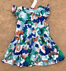 NWT Gymboree Toddler Girls Ruffle Camouflage Dress (48)