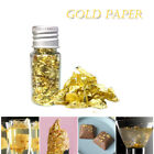 1 Gram Edible Huge Beautiful Gold Leaf Flakes Facial Mask Dishes Cakes Decor