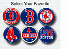 """Boston Red Sox Buttons 1.25"""" Baseball Hat T-Shirt Jersey Pins Badge Patch Logo on Ebay"""