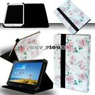 Leather Stand Folio Cover Case For Various 7