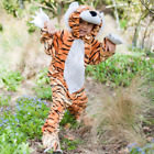 Travis Tiger Costume Childs Dressing Up Suit with Hood