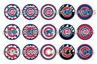 """MLB Chicago Cubs PRE CUTS or DIGITAL SHEET 1"""" Circle Bottle Caps on Ebay"""