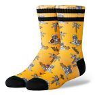 Stance NEW Kids Space Monkey Kids Crew Socks - Orange BNWT