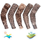Outdoor Uv Sun Protection Cooling Arm Sleeve Tattoo Cover Up Sport For Men/women