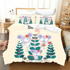 3D Cartoon Mouse Tree Quilt Cover Set Bedding Duvet Cover Single/Queen/King 95 image