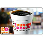 Kyпить Dunkin' Donuts Gift Card - $25 $50 or $100 - Email delivery на еВаy.соm