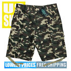 Original Deluxe Men's NWT 6-Pocket Green Camo 100% Cotton Cargo Shorts size 36