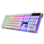 G21 Waterproof Keyboard With Rainbow Backlight USB Wired Game Keyboard + Mouse