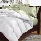 Goose Feather & Down Quilt 500GSM + Goose Feather and Down Pillows 2