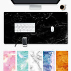 Large Marble Grain Game Mouse Pad Home Office Computer Desk Mat For Laptop PC