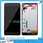 For Nokia Lumia640 650 950 1020 550 LCD Screen Touch Digitizer Replacement+Frame