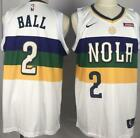 Kyпить NWT New Orleans Pelicans Lonzo Ball #2 mens jersey S-2XL на еВаy.соm