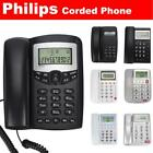 Philips Corded Telephone LCD Desktop Phone Caller ID Call Landline Home Office