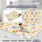 Large Double-sided Child Crawling Mat Baby Non-toxic Baby Playing Carpet