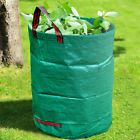 GroundMaster 400L Round Garden Waste Bags - Heavy Duty Reinforced Storage Sacks