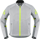 ICON Mesh AF Textile Motorcycle Jacket GREY FREE SHIPPING