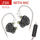 StoreInventorykz zsn in ear noise isolation earphone sports headphone monitors stereo headset