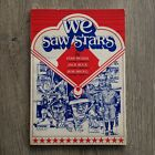 JACK BUCK STAN MUSIAL BOB BROEG Autograph We Saw Stars Book Signed By Jack Buck
