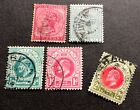 Natal - 4 nice used stamps (+ 1 missing corner) Queen Victoria & King Eduard VII