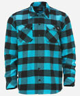 Dickies SACRAMENTO Flannel Hemd Regular Fit Long Sleeve Shirt ocean blue blau