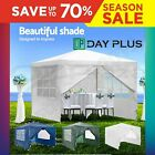 3x3 Metres Waterproof Gazebo Tent Marquee Awning Canopy with Zip Up Side Panels