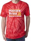 Tie-Dye Russell Westbrook James Harden Houston Rockets 2020 T-Shirt on eBay