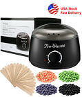 Wax Warmer Heater Pot Machine Salon Spa Hair Removal 300g Waxing Beans 10 Sticks $14.99 USD on eBay