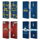 NFL 2018/19 LOS ANGELES CHARGERS LEATHER BOOK CASE FOR MICROSOFT NOKIA PHONES $19.95 USD on eBay