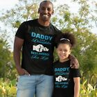 Daddy and Daughter Matching T-shirt Gift Present for Father Dad Tee Mens Womens