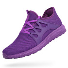 QANSI Womens Mens Trainers Comfy Lightweight Walking Sneakers Athletic Running