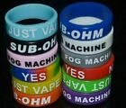 1~5~10 PACK NEW SILICONE RUBBER VAPE RINGS BANDS MIXED COLORS 22MM USA!!