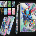 For Xiaomi Redmi 7 7A Note 7S Flip Painted PU Leather Case Magnetic Wallet Cover