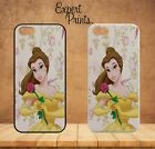 Beauty and the Beast Belle Floral iPhone Hard Plastic Or Rubber Case Cover H193
