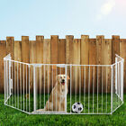 6/2 pcs Fireplace Fence Baby Safety Fence Hearth Gate Metal Fire Gate Pet Dog