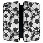 iPhone 7 PLUS Full Flip Wallet Case Cover Sport Football Pattern - S3989