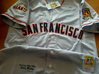 Brand New Gray SF GIANTS #25 Barry Bonds w/Dual patches sewn Cooperstown Jersey on Ebay