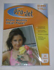 200 Sheets A4 Projet 210gsm Gloss Photo Paper