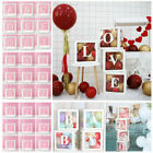 Kyпить Letter A-Z Cube Transparent Gift Boxes Kid Birthday Baby Shower Party Decoration на еВаy.соm