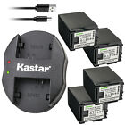 Kastar Battery Dual Charger for Canon BP-827 CG-800 Canon VIXIA HF M30 Camcorder